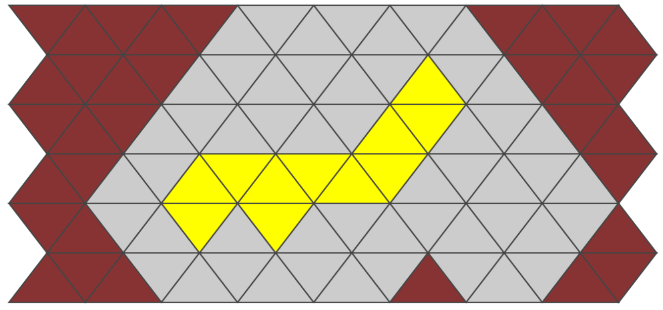 An image of the triangular grid